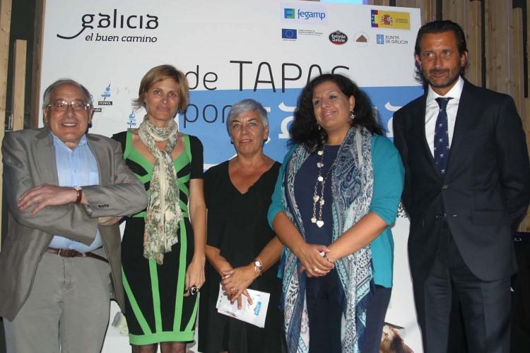 'De tapas por Galicia-Nava Castro, Carmen Basadre, Cayetano Rodriguez, Monica Vazquez, Mª Luisa Cid