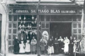 una pequeña carnicería que abrió en 1912