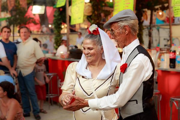 se trata del baile tradicional de la capital