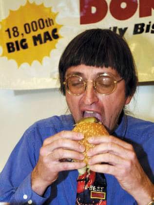 se come un Big Mac diario