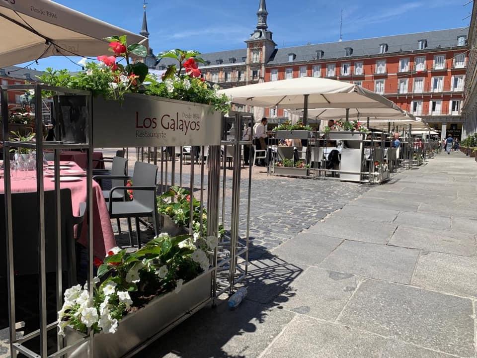 Plaza Mayor desde Los Galayos
